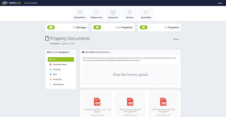 Rezi Anytime Document Section